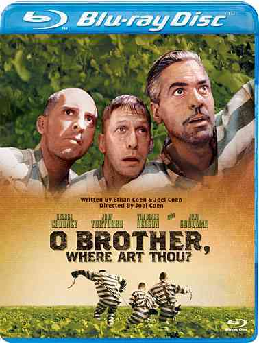 O BROTHER WHERE ART THOU BY CLOONEY,GEORGE (Blu-Ray)