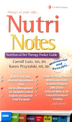 Nutri Notes By Lutz, Carroll/ Przytulski, Karen